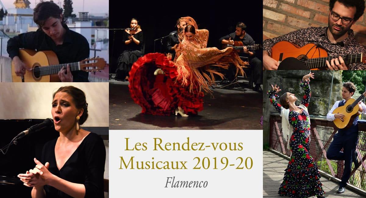 Concert Flamenco château d'Artigny
