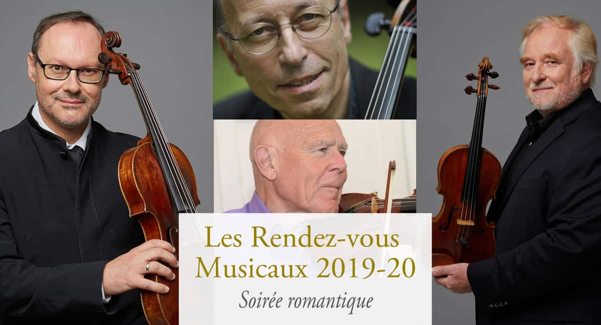 Concert classique au Château d'Artigny