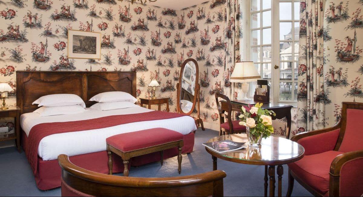 Chambre Deluxe Chateau d'Artigny