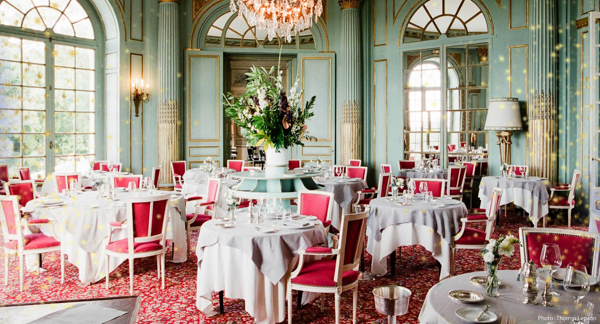 Restaurant l'Origan Chateau d'Artigny Montbazon en Touraine