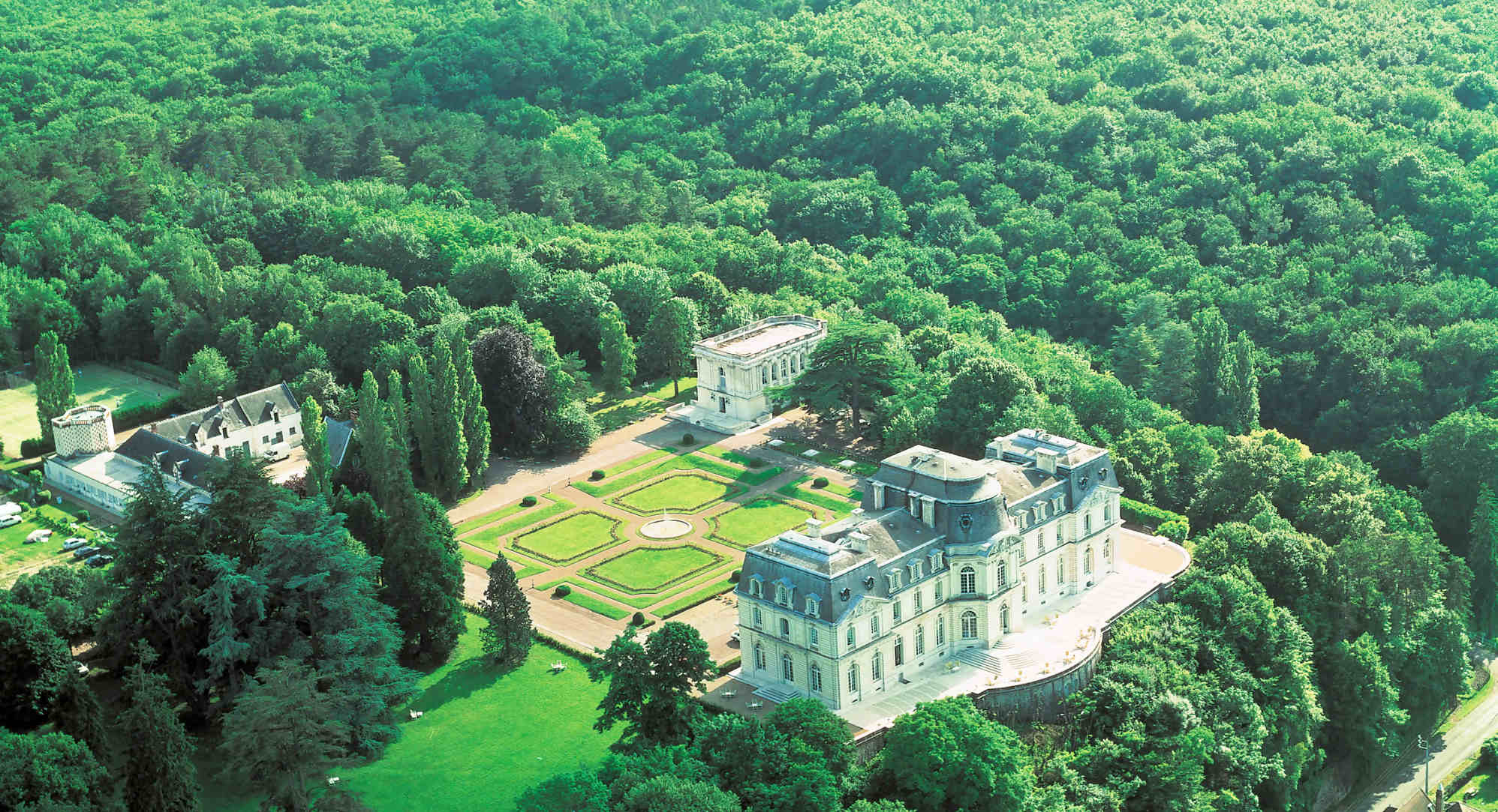 Chateau d'Artigny in Loire Valley