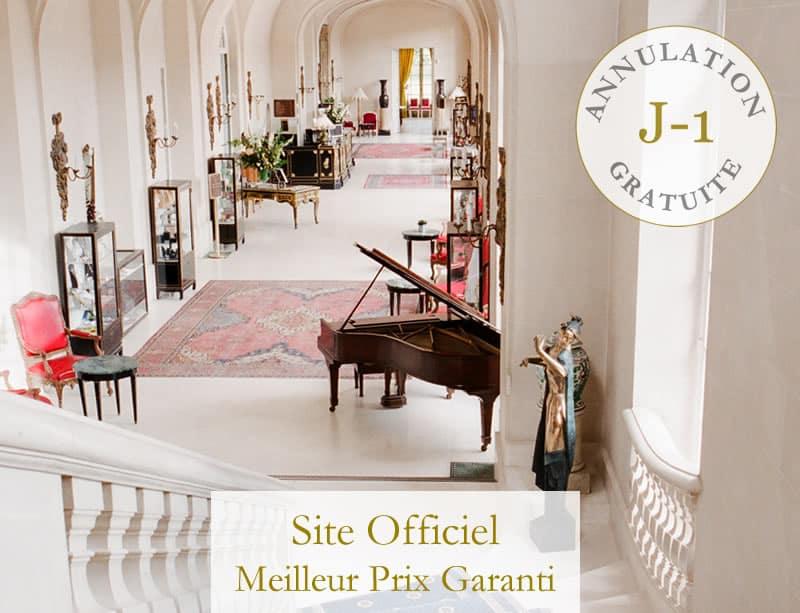 Chateau d'Artigny official website