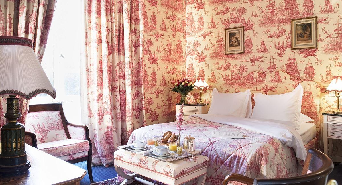 Chambre Tradition Chateau d'Artigny