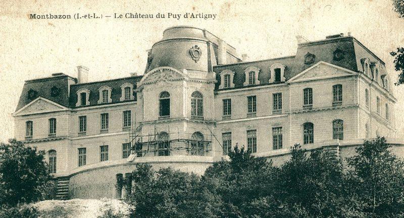 histoire Chateau d'Artigny