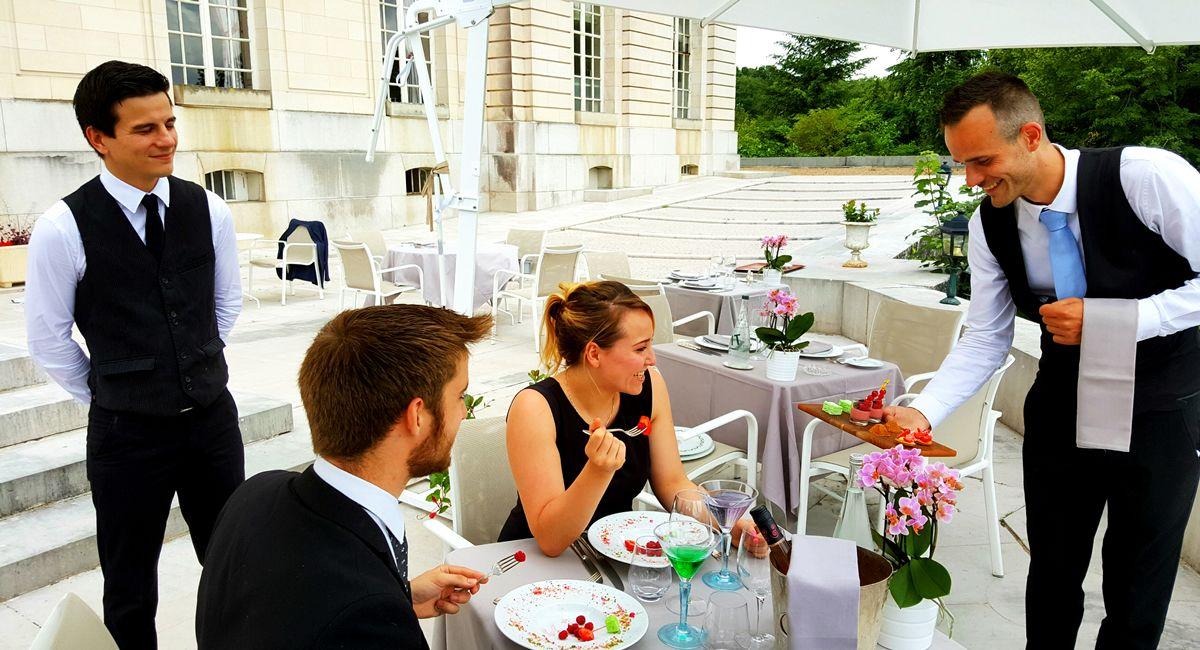 Restaurant l'Origan Chateau d'Artigny