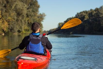 Kayaking sur la Loire