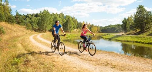Promenade en vélo en Val de Loire