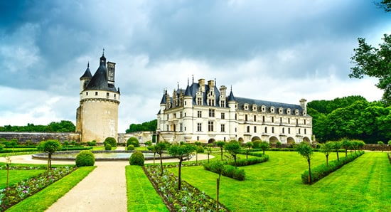 Best chateaux of Loire valley