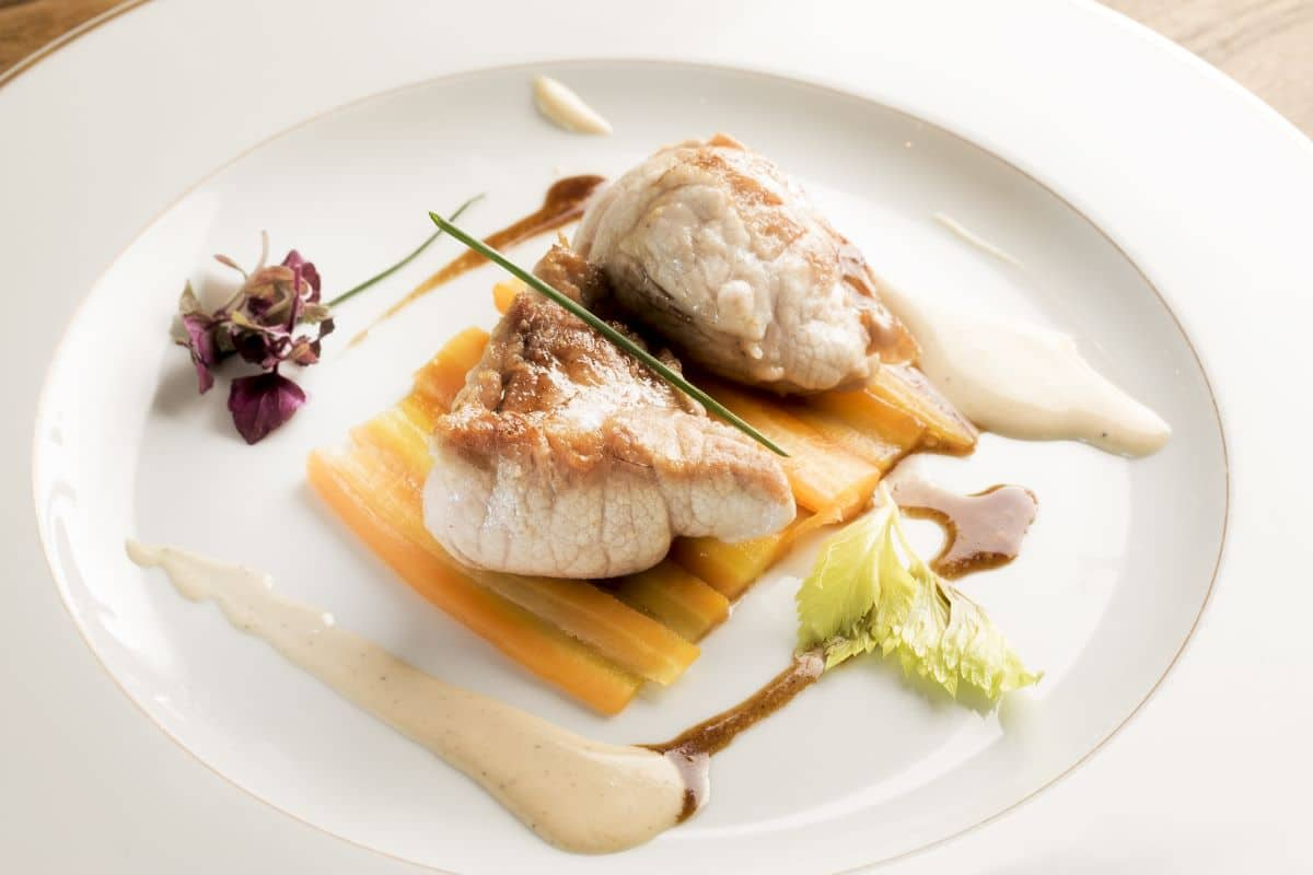invitation restaurant Amboise