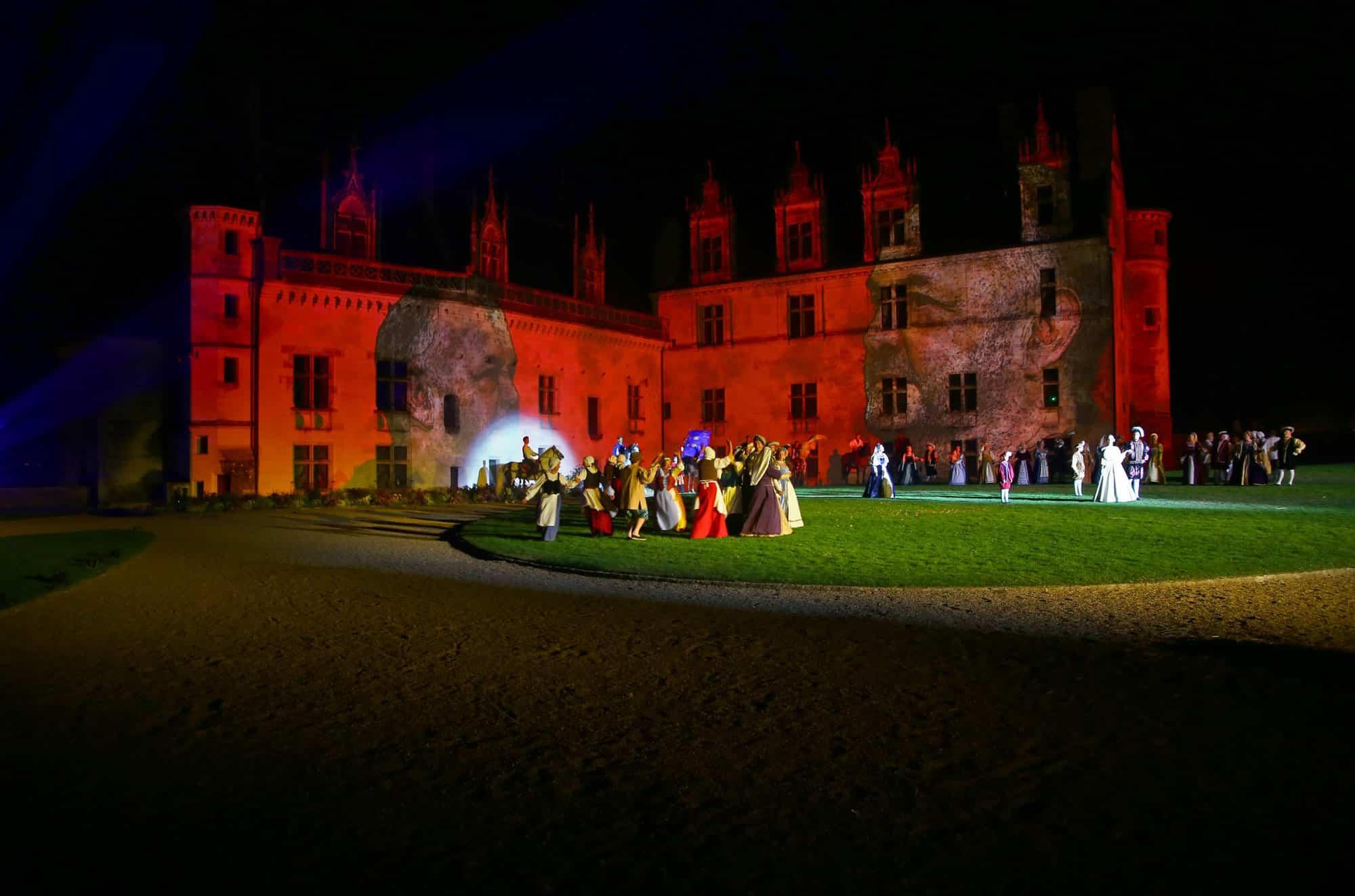 @ARA Prophétie d'Amboise - Spectacle nocturne