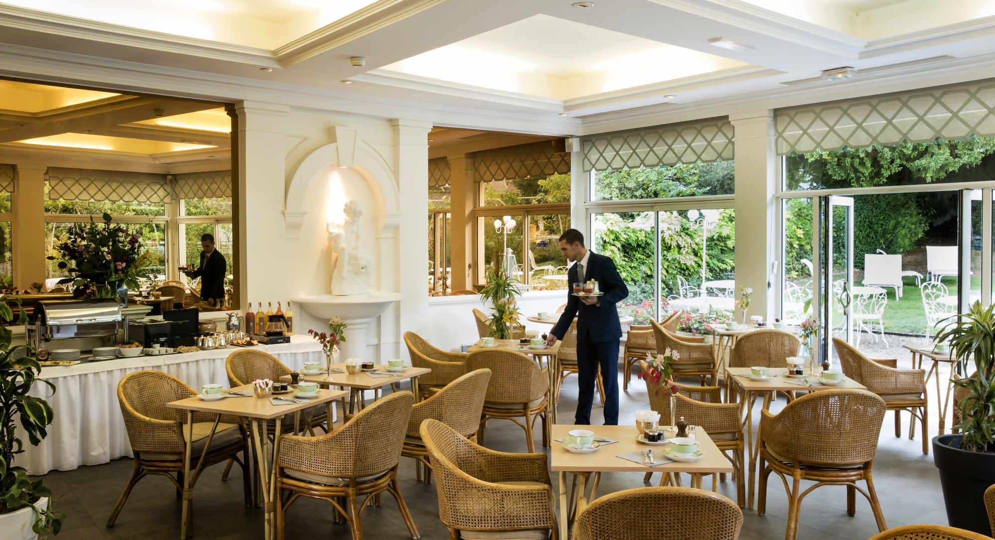 restaurant Choiseul côté jardin