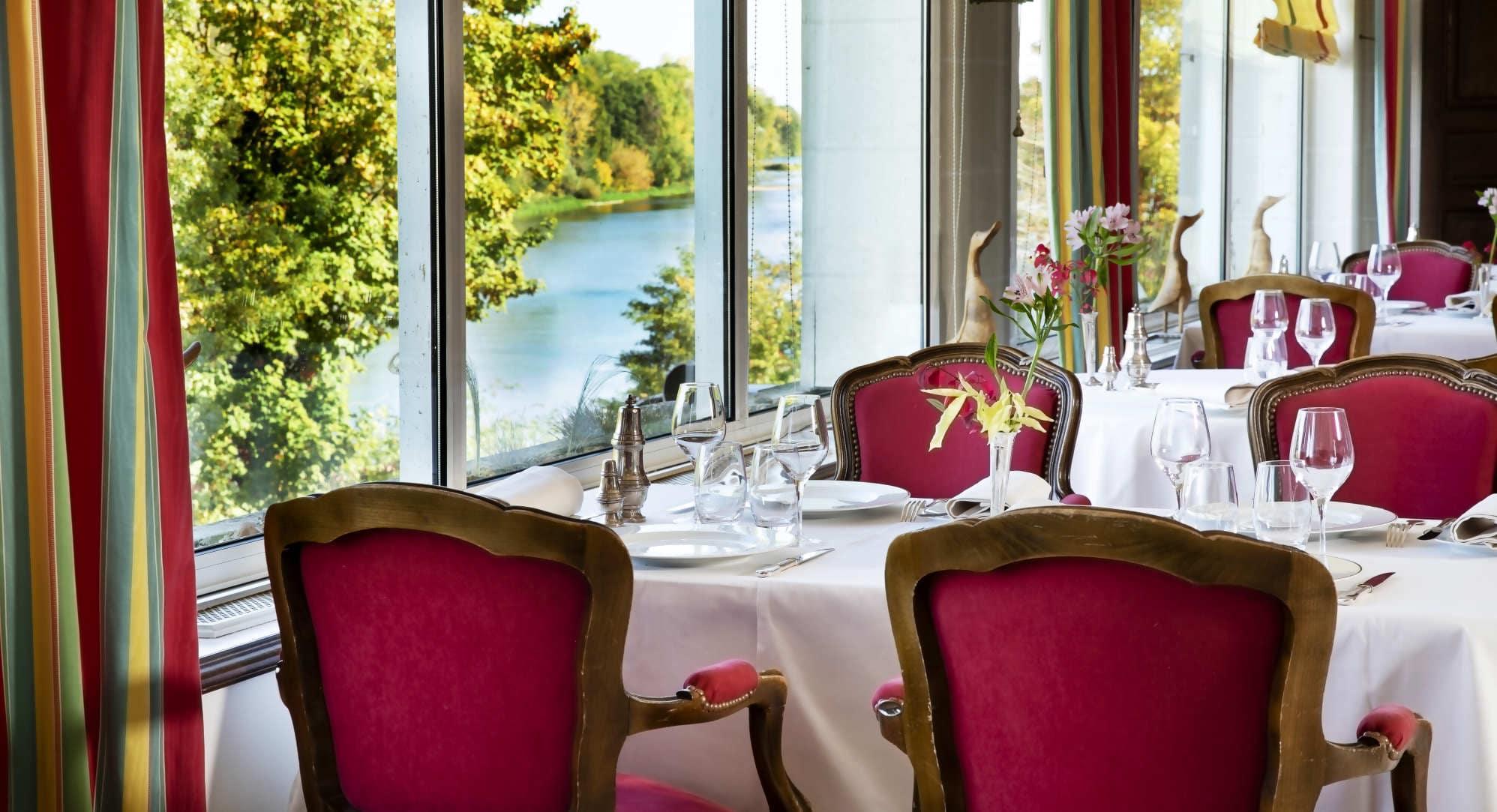 restaurant Amboise vue Loire
