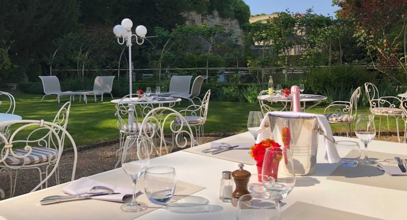 Restaurant en terrasse Amboise