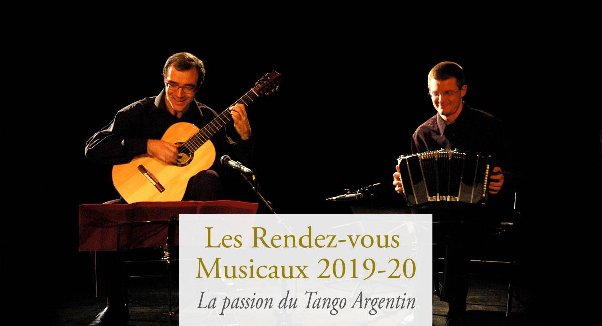 Week-ends musicaux concert tango