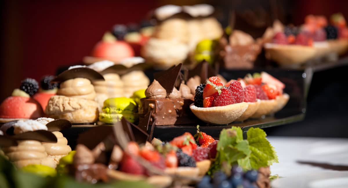 mariage Bourgogne Chateau buffet