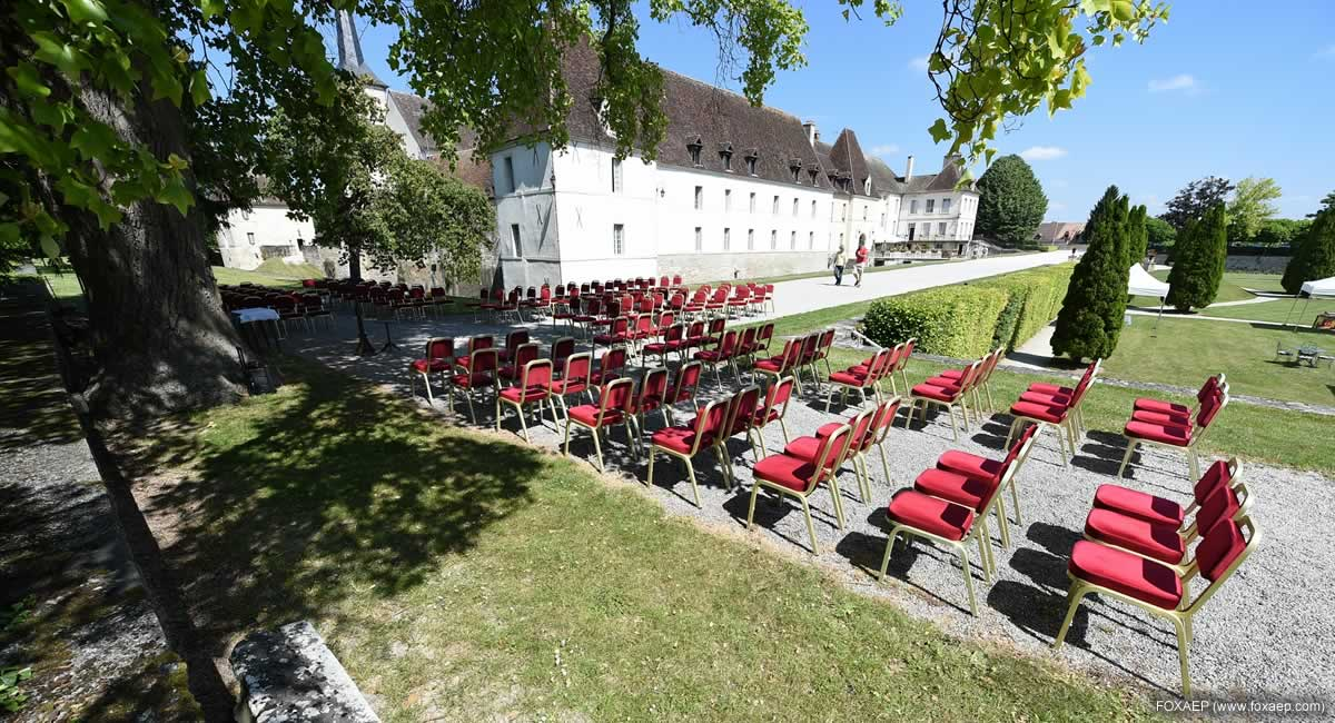 maraige en plein air Bourgogne