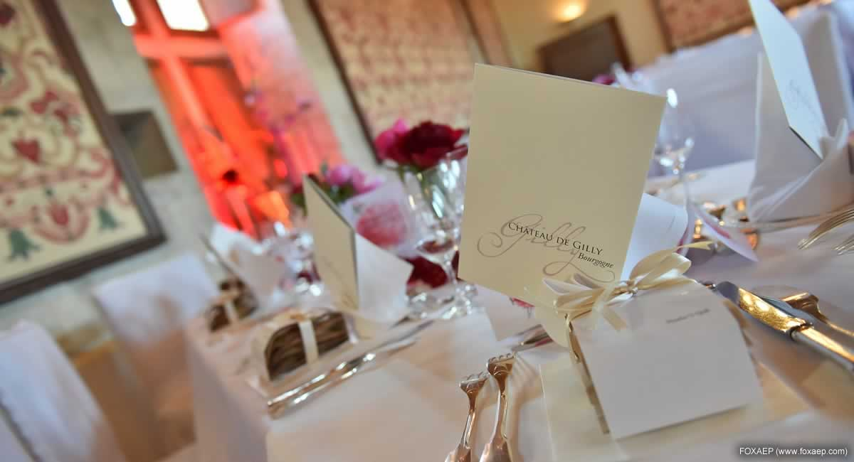 Mariage Chateau de Gilly