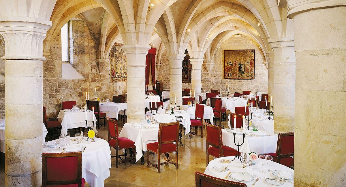Restaurant vom Château de Gilly - Burgund