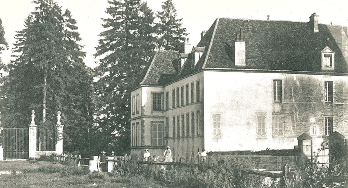 histoire Chateau de Gilly