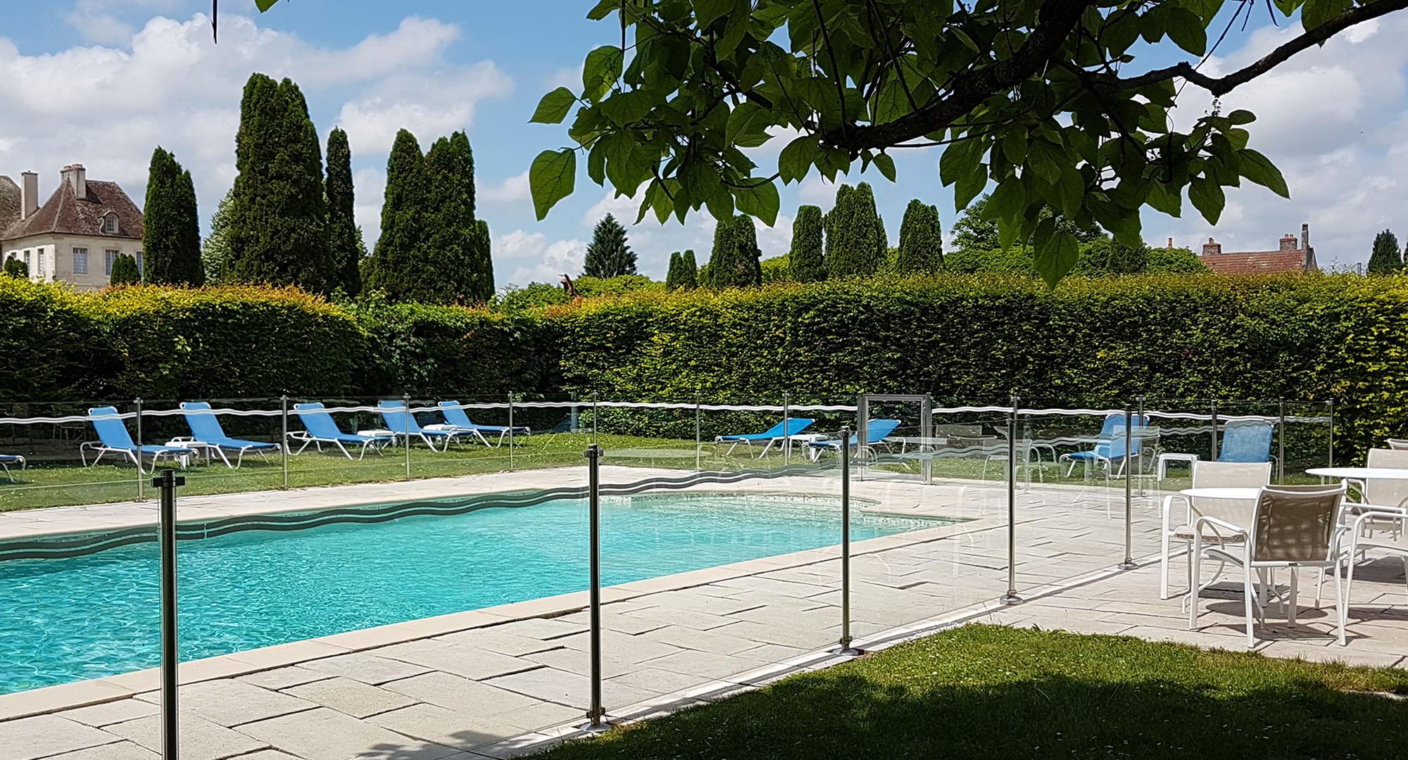 Hôtel avec piscine - Bourgogne