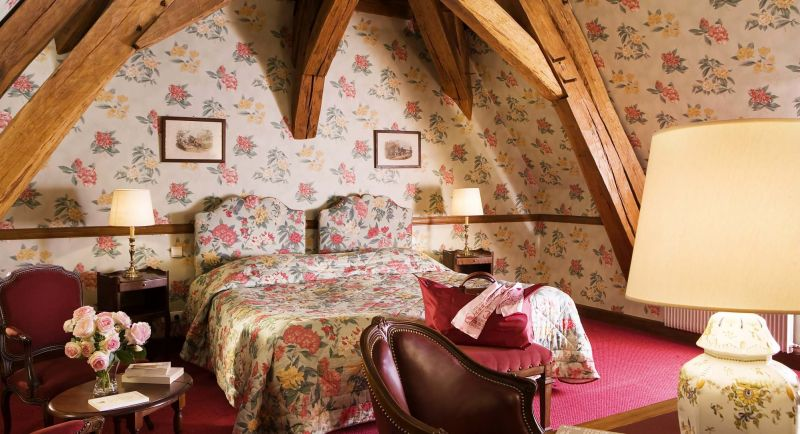 chambre chateau de Gilly