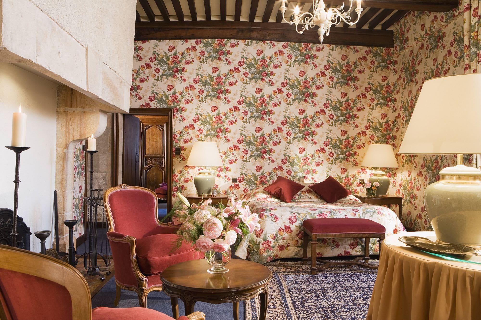 Suite hotel Château de Gilly