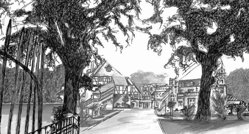 histoire du Chateau de l'Ile