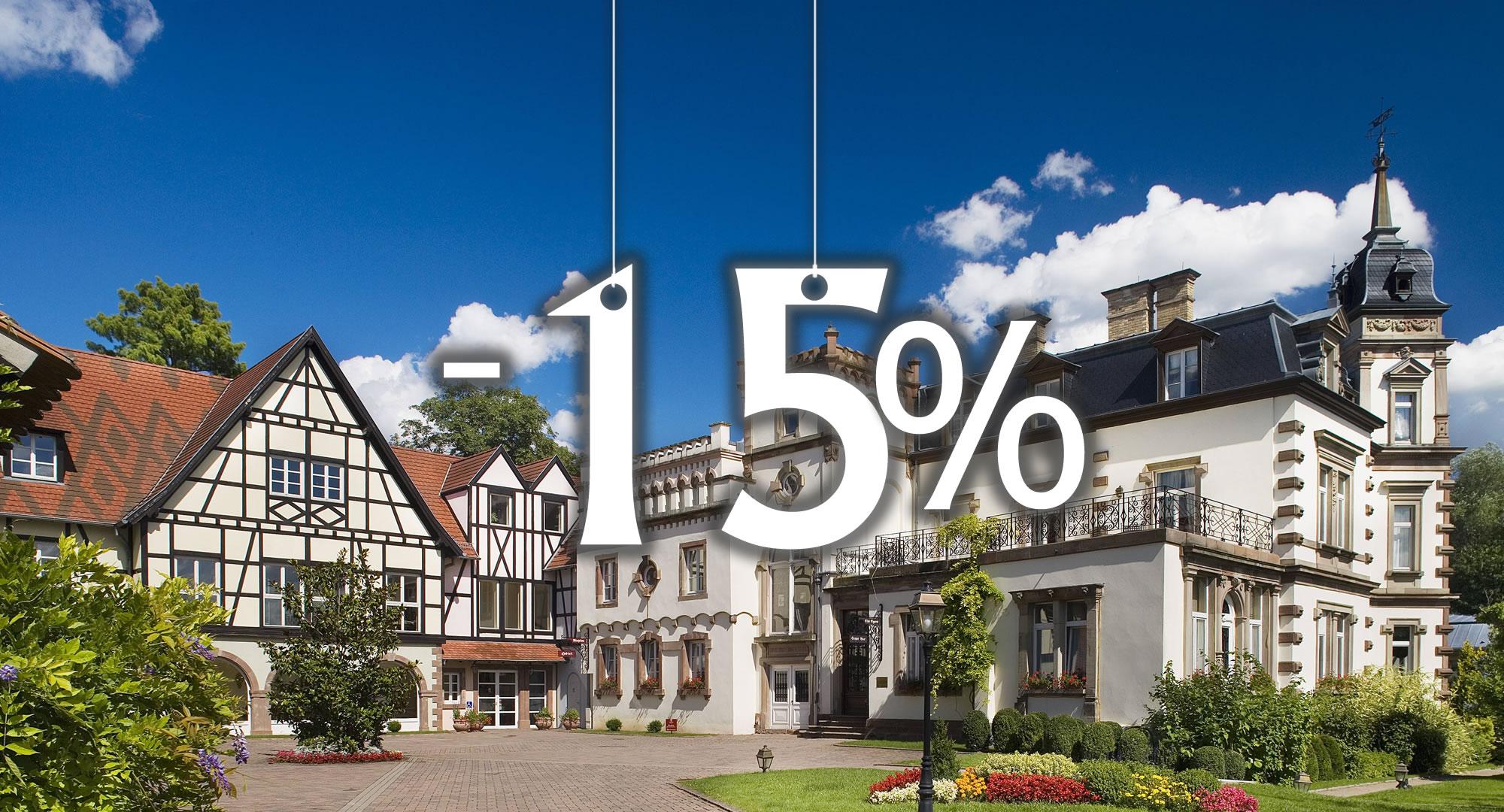 promotion hotel Strasbourg