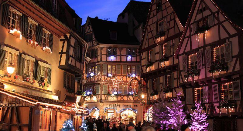 Marché de Noël à Strasbourg en Alsace