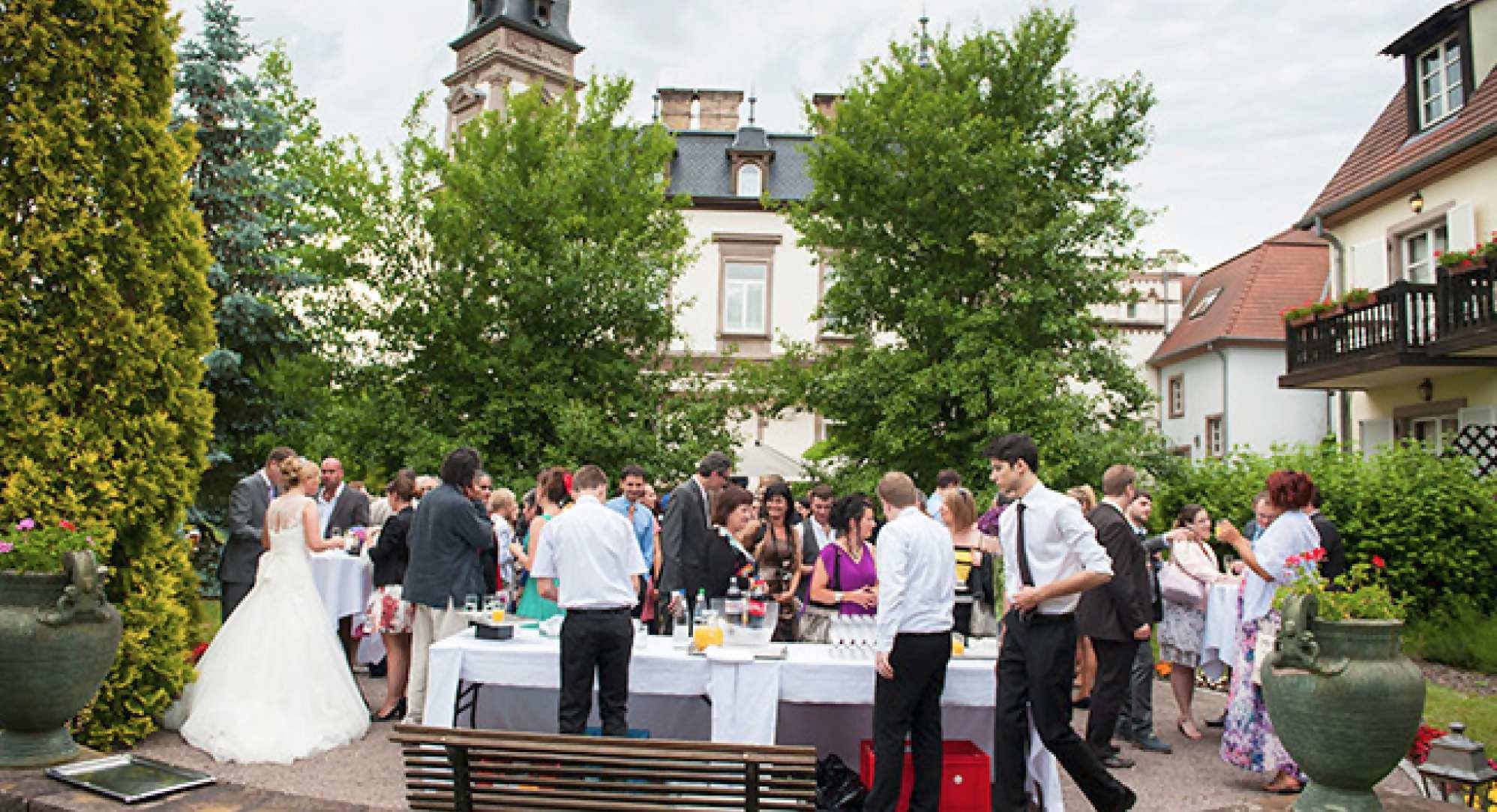cocktail mariage chateau de l'Ile