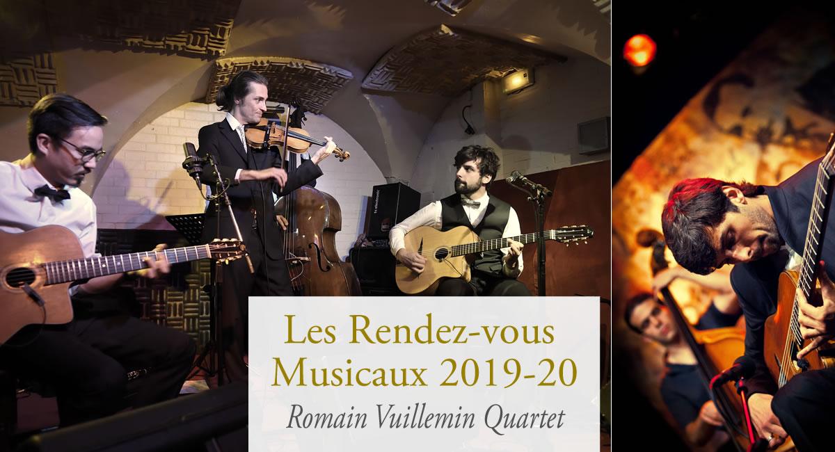 Soirée concert Romain Vuillemin Quartet
