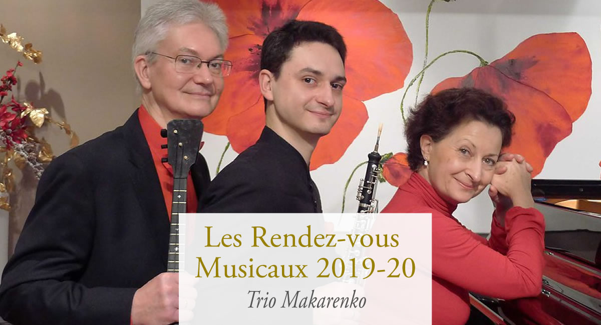 Trio Makarenko en concert au château d'Isenbourg