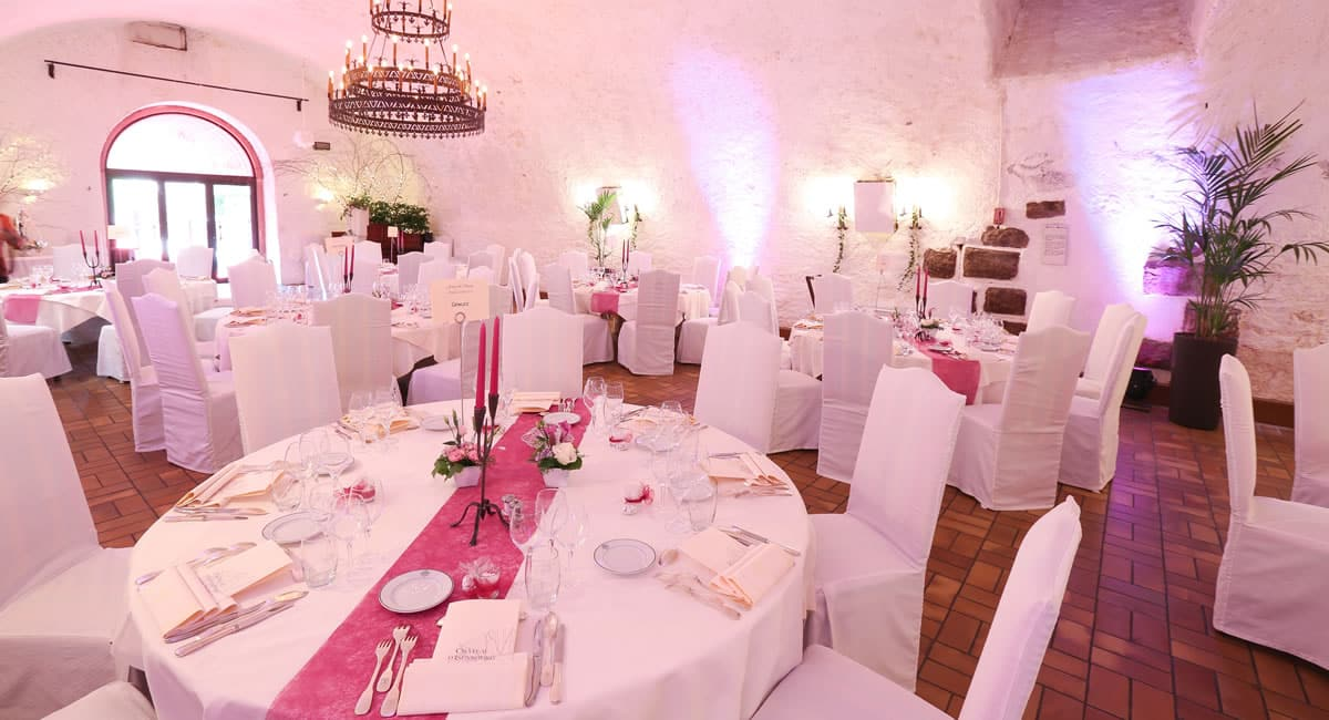 salle mariage chateau d'Isenbourg