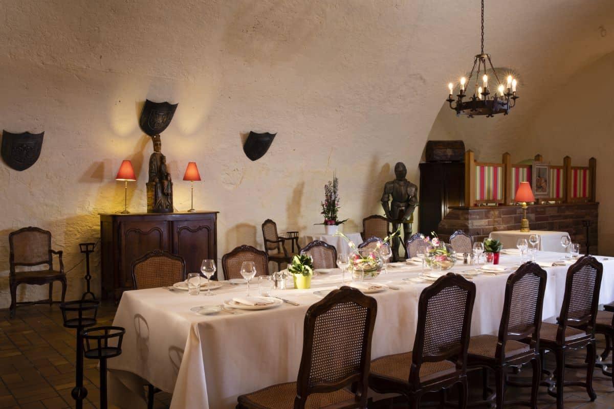 salle réception chateau d'Isenbourg