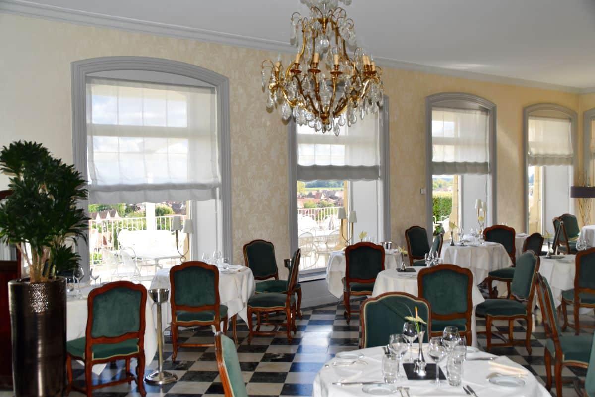 Restaurant panoramique Chateau d'Isenbourg