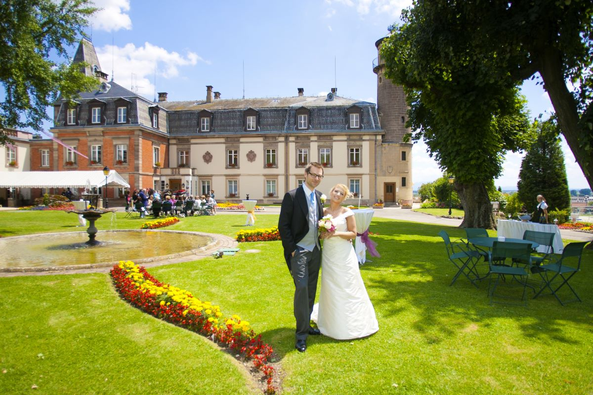 Mariage chateau Alsace
