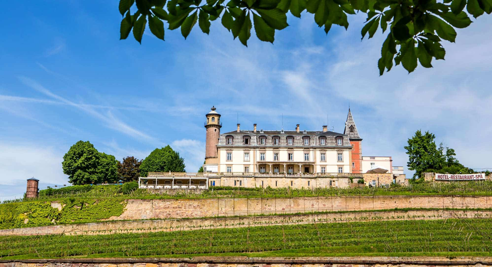 chateau hotel Isenbourg Alsace