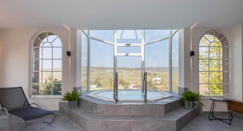 Wellness offer at chateau d'Isenbourg